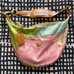 Colorful Coach Patchwork Bag (2007)